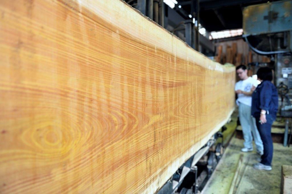 無鄰菴の銘木・木材の世界