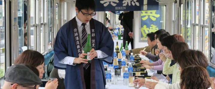 えいでん日本酒電車(神蔵号・英勲号)」が走ります!