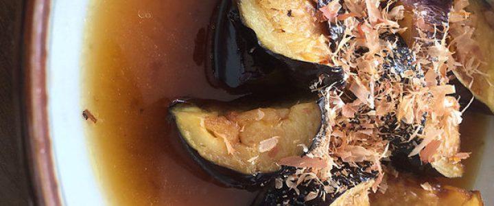 上賀茂池西農園の茄子を使ったメニューを、割引価格で