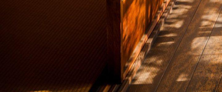 秋の早朝特別公開「秋の縁側・煎茶・庭」