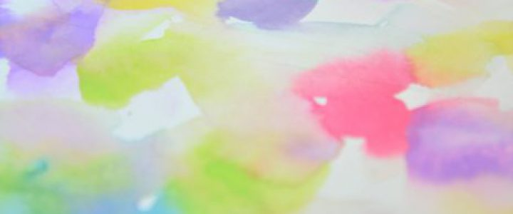 ワークショップ、今年の気持ちを表した色を表紙に。