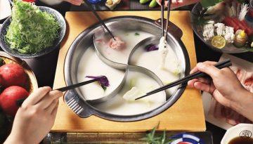 「豆乳とんしゃぶ 寅太郎」仕切り鍋を採用
