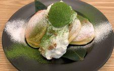 幸せのパンケーキ「宇治抹茶の濃厚ムースパンケーキ」