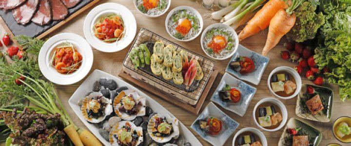 京の都 野菜ブッフェ