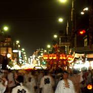 祇園祭 還幸祭 後祭 西御座 祇園石段下 八柱御子神