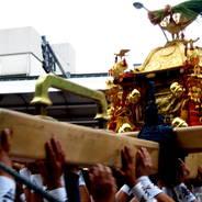 祇園祭 還幸祭 中御座神輿 四条御旅所