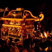 鞍馬の火祭 由岐神社お旅所