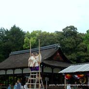 葵祭 賀茂競馬  上賀茂神社
