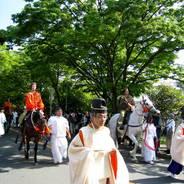 葵祭 路頭の儀 加茂街道 路頭の儀