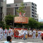 祇園祭 生稚児結納の儀 山鉾巡行  綾傘鉾