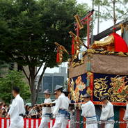 後祭 祇園祭 八幡山