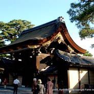 京都御所秋季一般公開  京都御所 建礼門