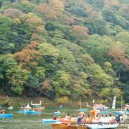 紅葉狩  嵐山