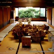 祇園祭 吉符入り 竹の皮拭き 三条台若中会所 三若