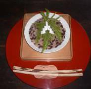 小豆粥 上賀茂神社
