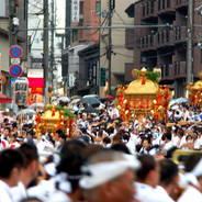 祇園祭 神幸祭 祇園石段下