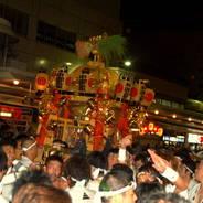 祇園祭 神幸祭 寺町御旅所 中御座神輿 素戔嗚尊