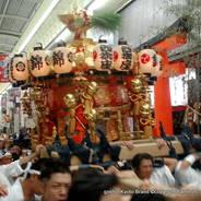 祇園祭 還幸祭 後祭 西御座神輿 八坂御供社