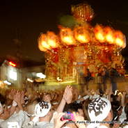 祇園祭 還幸祭 後祭 祇園石段下 西御座神輿 八柱御子神