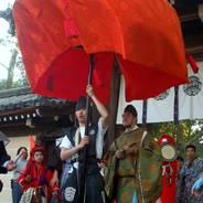春祭 やすらいまつり 今宮神社