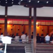 蛍狩り 蛍火の茶会  下鴨神社 細殿