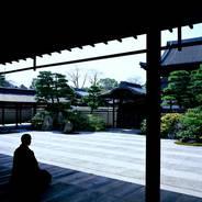 京の夏 座禅会 建仁寺両足院 龍山徳見禅師
